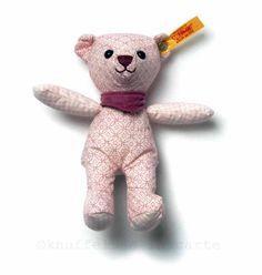 pink bear rattle