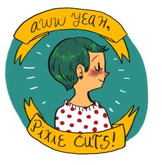 queenofbutts: I made a pixie cut appreciation...