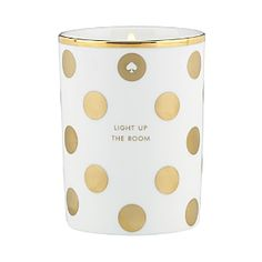 Light Up The Room Candle  / Kate Spade -- these are so cute, they would be great as presents to friends!!