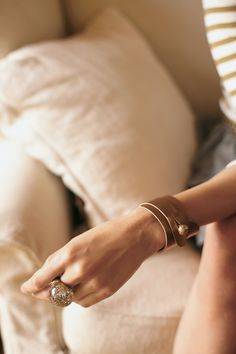 love this leather cuff...can it be a diy? @ca