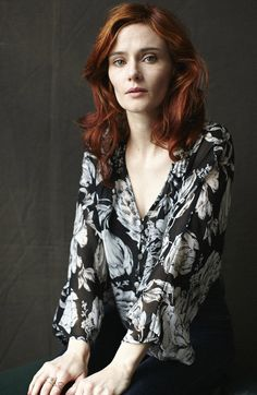Photo by Andree Martis and Demian Dupuis ; Redhead Actress Rebecca Calder