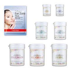 Anskin 700ml Modeling Mask + Purederm Eye Zone Mask Skin Care Masque #ANSKIN
