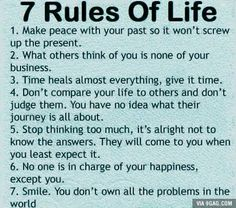 8. follow the golden rule