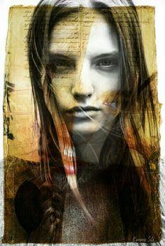 My photography and photomontage Photo D Art, Artist Brush, Silk Art, Photomontage, New Media, Figurative Art, Halloween Face Makeup, Girly, Photos