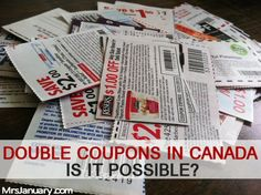 Although double coupons are a fun and exciting way to save money on groceries, don't rely on these special coupon doubling events alone to save money. Save Money On Groceries, Ways To Save Money, Money Saving Tips, Money Tips, Couponing 101, Extreme Couponing, Freebies By Mail, Get Free Stuff, Grocery Coupons