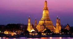 Bangkok, Thailand's capital, is a large city known for ornate shrines and vibrant street life. Like many other capital cities, Bangkok never goes to sleep, there is always a hive… Laos, Phuket, Kamala Beach, Koh Chang, Bangkok Travel, Bangkok Guide, Asia Travel, Buddhist Temple, Cambodia