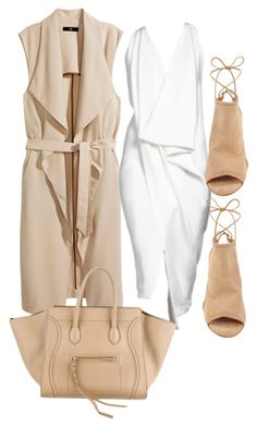 Untitled #270 by rhiannonkennedy on Polyvore featuring H&M, Aquazzura and Donna Karan: