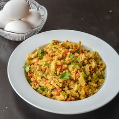 Indian scrambled eggs, spicy and loaded with veggies. Perfect for a healthy breakfast or pairs well with rotis or a sandwich filling. I would say it is one of the Mumbai's famous and fast selling f…