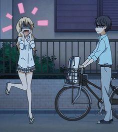 Shigatsu wa Kimi no Uso and ^^ cute Sad Anime, I Love Anime, Me Me Me Anime, Manga Anime, Anime Art, Hikaru Nara, Miyazono Kaori, Your Lie In April, Image Manga
