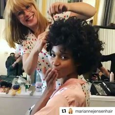 #repost via SESSION.MASTER @mariannejensenhair backstage @cphfw using KILLER.CURLS #lovekm  ・・・  Opening show at @cphfw for @annevest_official with this beautiful babe @sofiasanoh 💕using #killercurls #kevinmurphy @kevin.murphy.europe @love_kevin_murphy @pazbam @kwolffan @juhaolavi @aupdike27 @timothydurant @joseph.zg @juliedam.dk @_liinhnguyen