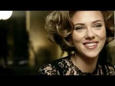 Scarlett Johansson Funny Sexy Commercial Dolce Gabbana The One Celebrity Commercial TV 2013