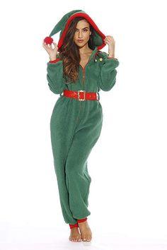 Adult Christmas Onesie for Women Sherpa One-Piece Pajamas: Clothing Adult Onesie Pajamas, Best Pajamas, Christmas Onesie, Christmas Pajamas, Christmas Clothes, Christmas Stuff, Xmas Pjs, Christmas Fashion, Christmas Wedding