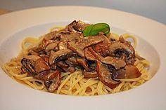 Spaghetti mit Champignon - Sahne - Soße, ein tolles Rezept aus der Kategorie Pasta & Nudel. Bewertungen: 24. Durchschnitt: Ø 3,6.