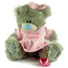 LOVELY DAUGHTER Tatty Teddy Me To You Bear Gift From Girly Gifts