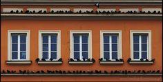 Plac Solny   #Wroclaw #Breslau #Poland #architecture #tenement Poland, Garage Doors, Windows, Architecture, Outdoor Decor, Home Decor, Arquitetura, Homemade Home Decor, Window