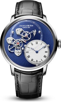 TimeZone : Industry News » Pre-Basel 2017 - Arnold & Son Instrument DSTB Steel