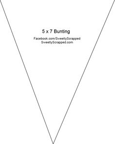 Free Bunting Printable Pattern Great For Parties Holidays