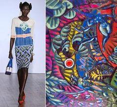 Basso & Brooke for Cubo-Futurism ~ Trend de la Creme - Trends in fashion, style, beauty, design, and popular culture.