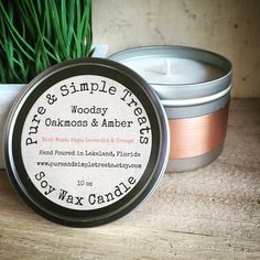 A personal favorite from my Etsy shop https://www.etsy.com/listing/248438516/woodsy-oakmoss-amber-10oz-soy-candle