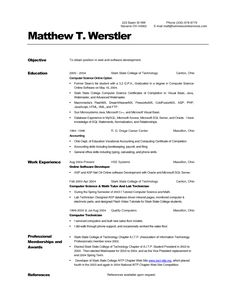 40 best Resume Templates images on Pinterest | Curriculum, Resume ...