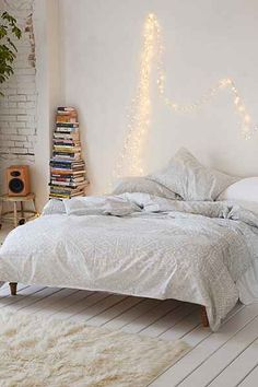 White, Grey and Copper Bedroom | Copper bedroom, Quilt cover and Aztec
