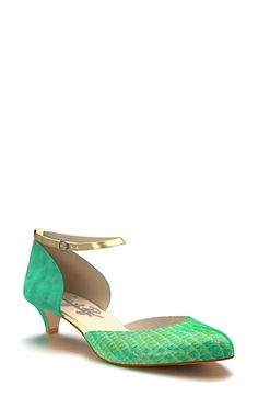 Shoes of Prey Ankle Strap d'Orsay Pump (Women) available at #Nordstrom