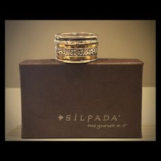 Retired Silpada Spinner Ring final price Retired Silpada Spinner Ring Size 8 final price Not included with bundles  Silpada Jewelry Rings