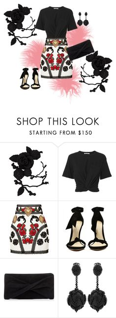 """total"" by ritinha27 on Polyvore featuring olgafacesrok, T By Alexander Wang, Dolce&Gabbana, Reiss and Oscar de la Renta"