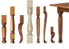 Kitchen Leg Lathe Designs
