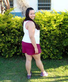 Look Fitness La Curvy - no Blog Carol Vayda     http://carolvayda.com.br/look-fitness-plus-size/