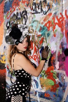 Headpiece's and Photography by Zoe Purdom  #headpiece #fashion #photography #accessories #jewellery #feather #embellished #embellishment #zoepurdom #statement  #record #vinyl #graffiti #art