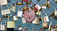 locks of love <3 in Paris