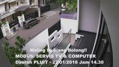 Maling Profesional di Kawasan Pluit Jakarta