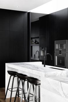 Duplex Design, Apartment Design, Kitchen Interior, Kitchen Design, Kitchen Ideas, Rosedale House, Interior Architecture, Interior Design, Interior Modern