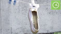 74ff8c6a124 4 Easy Ways to Clean White Converse - wikiHow Converse Blanche