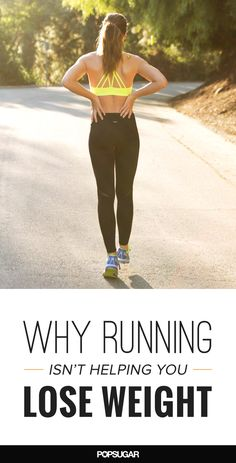 I started running months ago, yet every time I hop on the scale, I'm let down by the results. What gives? While running does burn mega calories, here are some reasons you may not be seeing the weight-loss results you're after - this was so helpful!