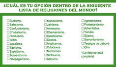 Pareja y religión