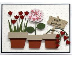 cricut walk in mhy garden cards - Google Search