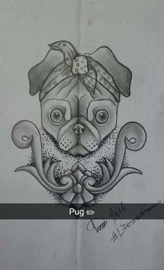 Pugs life #drawing #draw #art #doodle #sketch #sketchbook