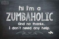 Zumba Quote | Zumba Chalk | The Cutest Blog on the Block