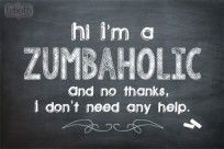 Zumba Quote | Zumba Chalk | The Cutest Blog on the Block