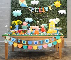 Painel para Festa Infantil: 46 ideias imperdíveis