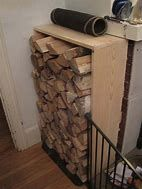 You need a indoor firewood storage? Here is a some creative firewood storage ideas for indoors. Lots of great building tutorials and DIY-friendly inspirations! Indoor Firewood Rack, Firewood Holder, Firewood Storage, Recycled Trampoline, Indoor Outdoor, Outdoor Decor, Decorative Storage, Recycled Wood, Rustic Kitchen