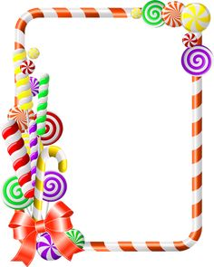 Christmas Boarders, Christmas Frames, Christmas 2019, Candy Land Theme, Birthday Clipart, Quilt Labels, Merry Christmas Everyone, Borders And Frames, Candy Party