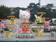 Hello Kitty amusement park! (But you should read the article attached..its all the worst theme parks in the world haha)