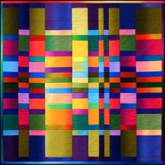 "Carol Bryer Fallert has done a whole series of quilts based on Fibonacci numbers.  This one is her ""#5""  Fun!"
