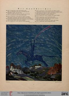 Jugend, German illustrated weekly magazine for art and life, Volume 27.1, 1922.