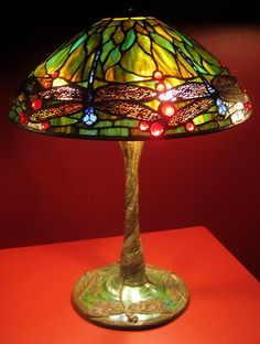 Tiffany Lamps by Danielle317, via Flickr (From a special museum exhibit of Tiffany lamps)-If I don't have kids, then lots of stained glass