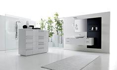 Lignum by Karol Designer: Giancarlo Vegni Sintesi di un'economia essenziale unita a sobria raffinatezza. #karol #design #interior #bagno #arredo #bathroom