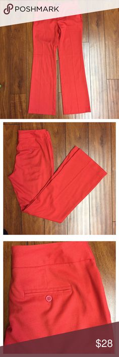 ❤️GAP Pants❤️ Used once only. Great condition. No flaws. Color red. Size 2R. Machine wash. GAP Pants Wide Leg